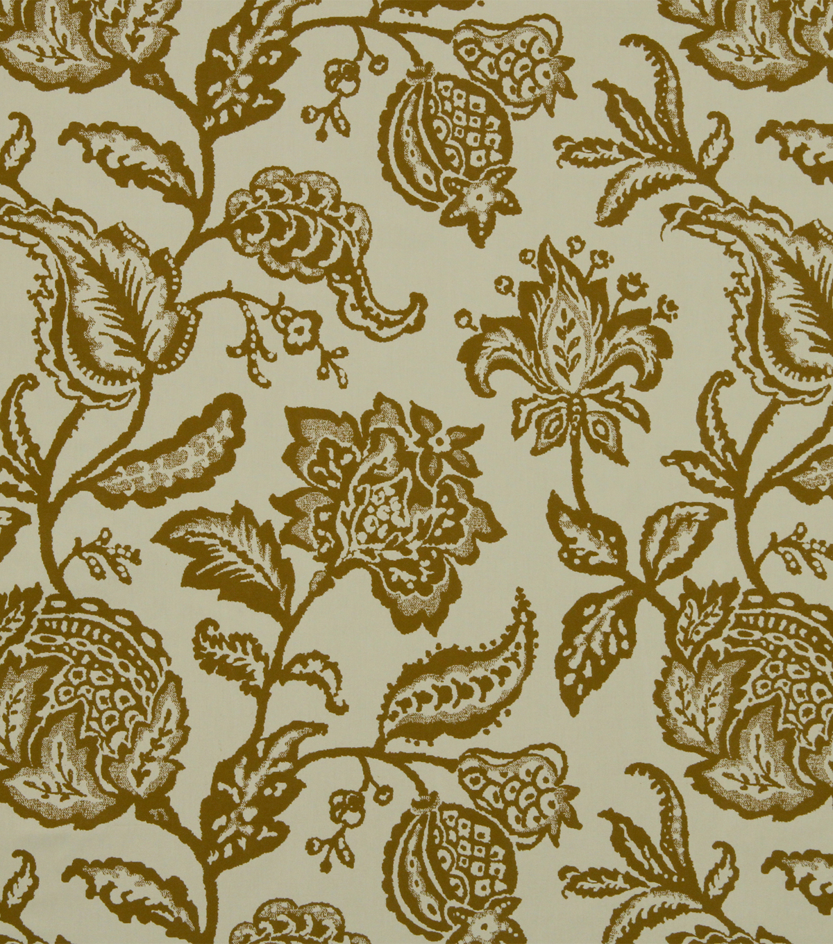 Home Decor 8\u0022x8\u0022 Fabric Swatch-Robert Allen Jacobean Toss Amber