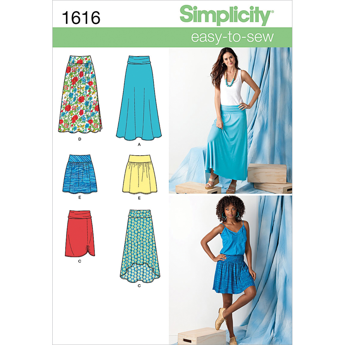 Simplicity Pattern 1616R5 14-16-18-2-Simplicity Misses Sk