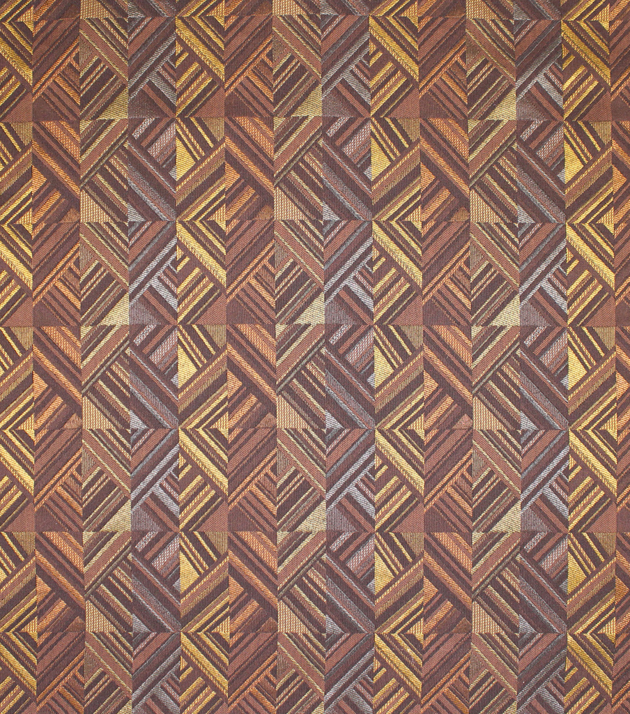 Home Decor 8\u0022x8\u0022 Fabric Swatch-Upholstery Fabric Barrow M8696-5972 Umber