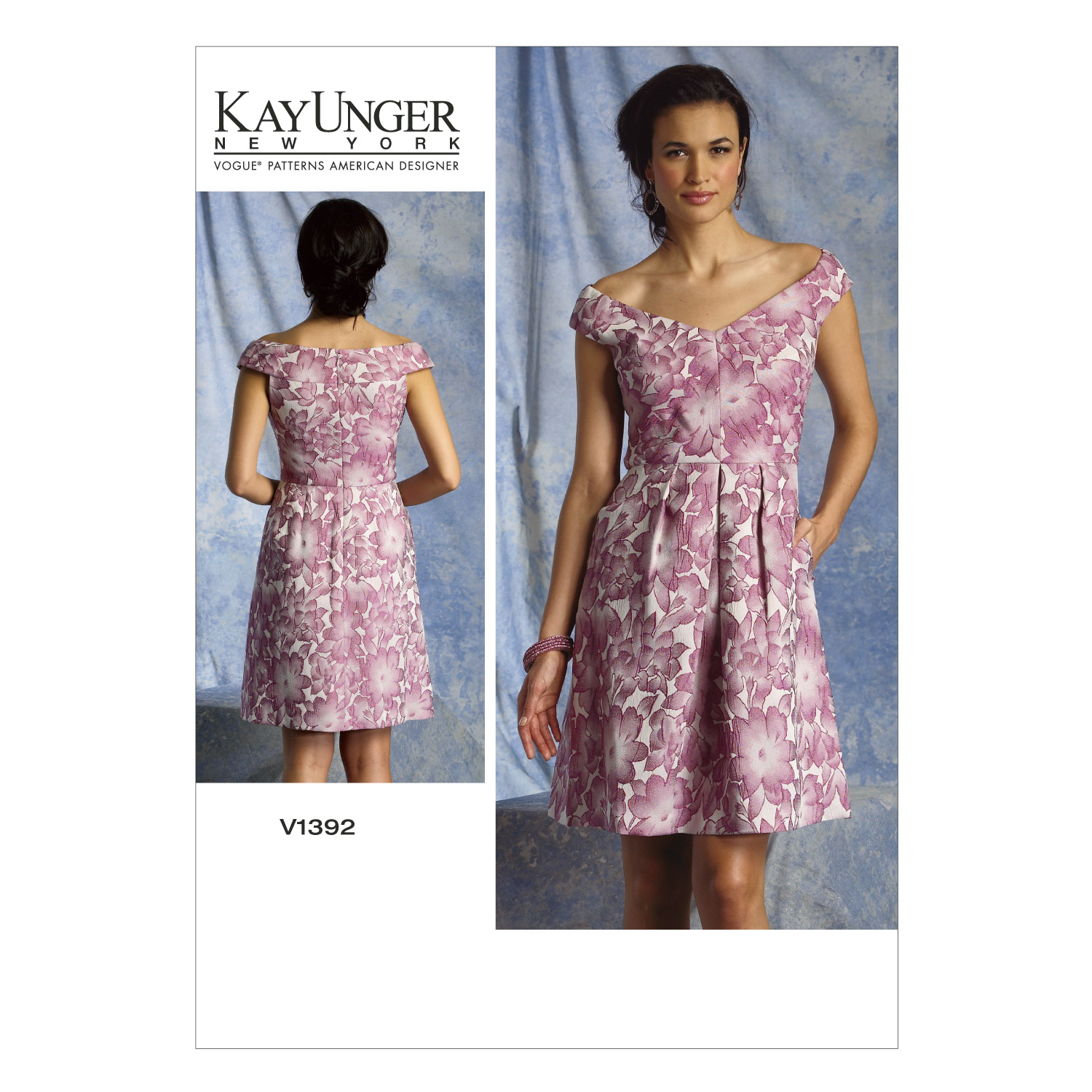 Vogue Patterns Misses Dress-V1392