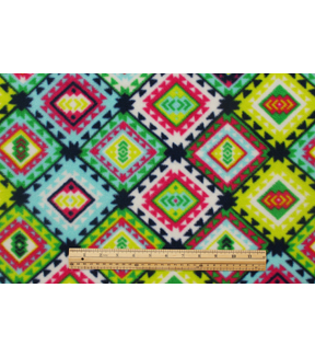 Anti-Pill Fleece Fabric 59\u0022-Boho Sw Aztec