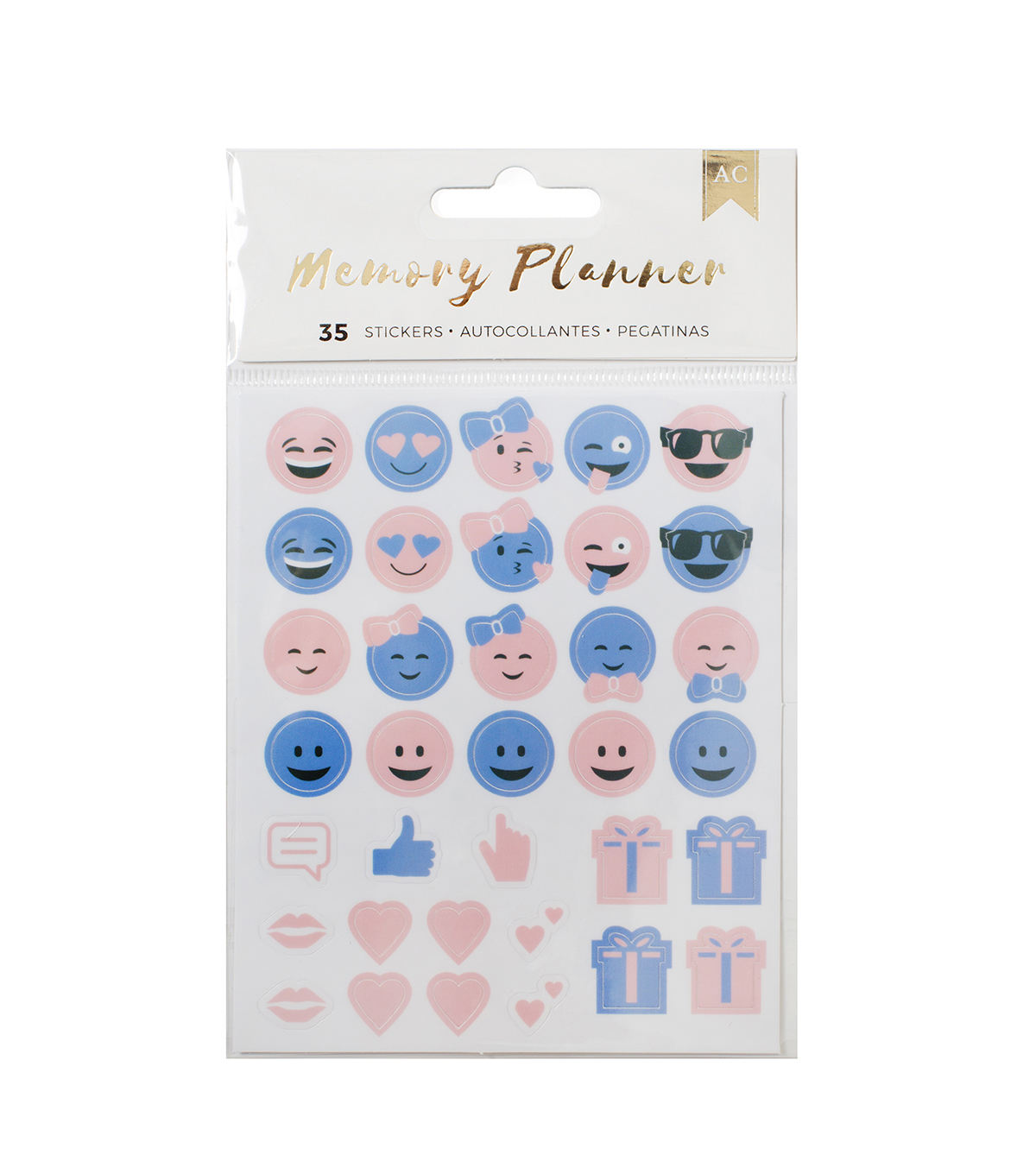 American Crafts™ Memory Planner Emoticon Stickers