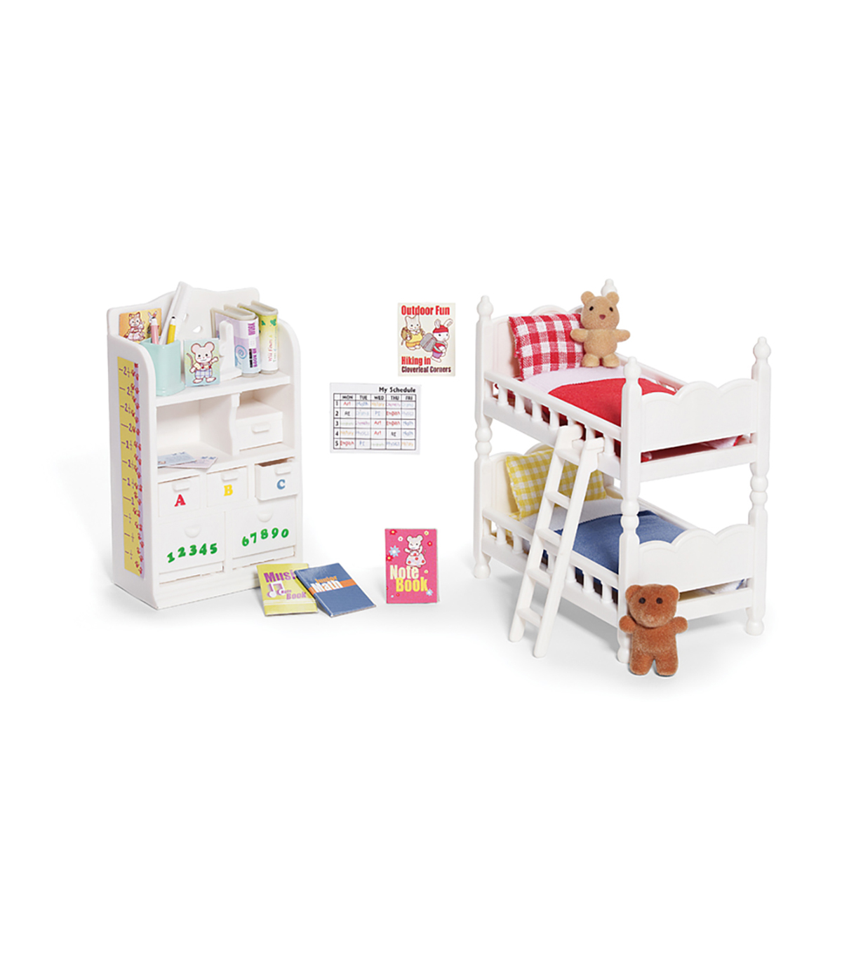 Calico Critters Children\u0027s Bedroom Set