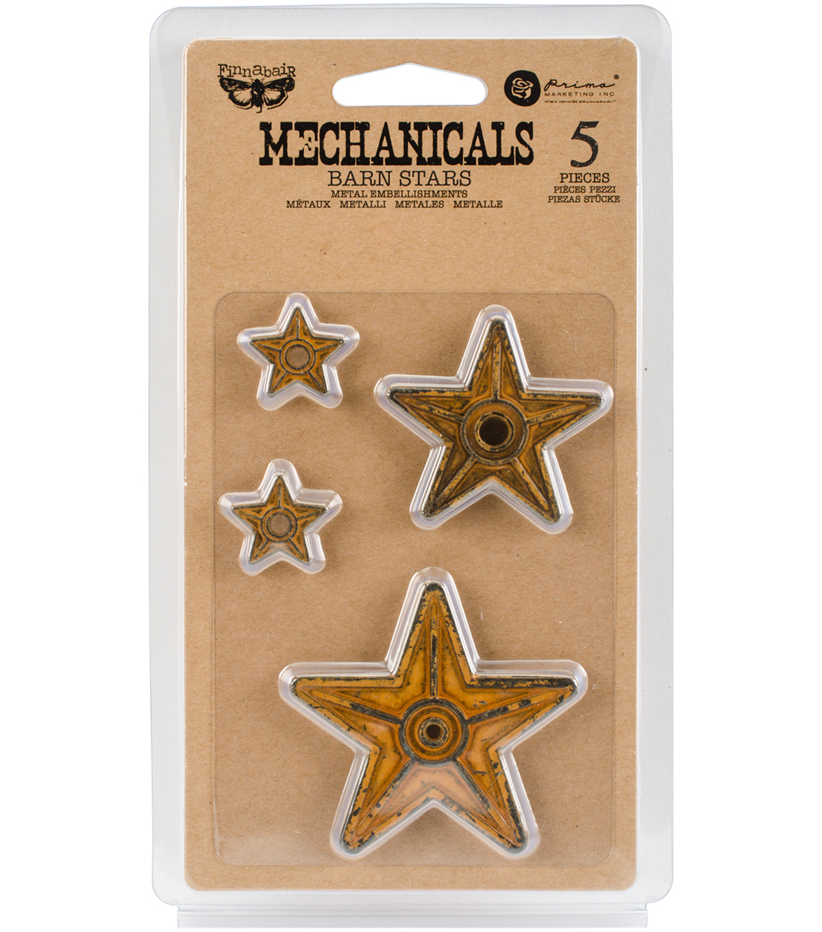 Barn Stars-mechanicals Emblshmt