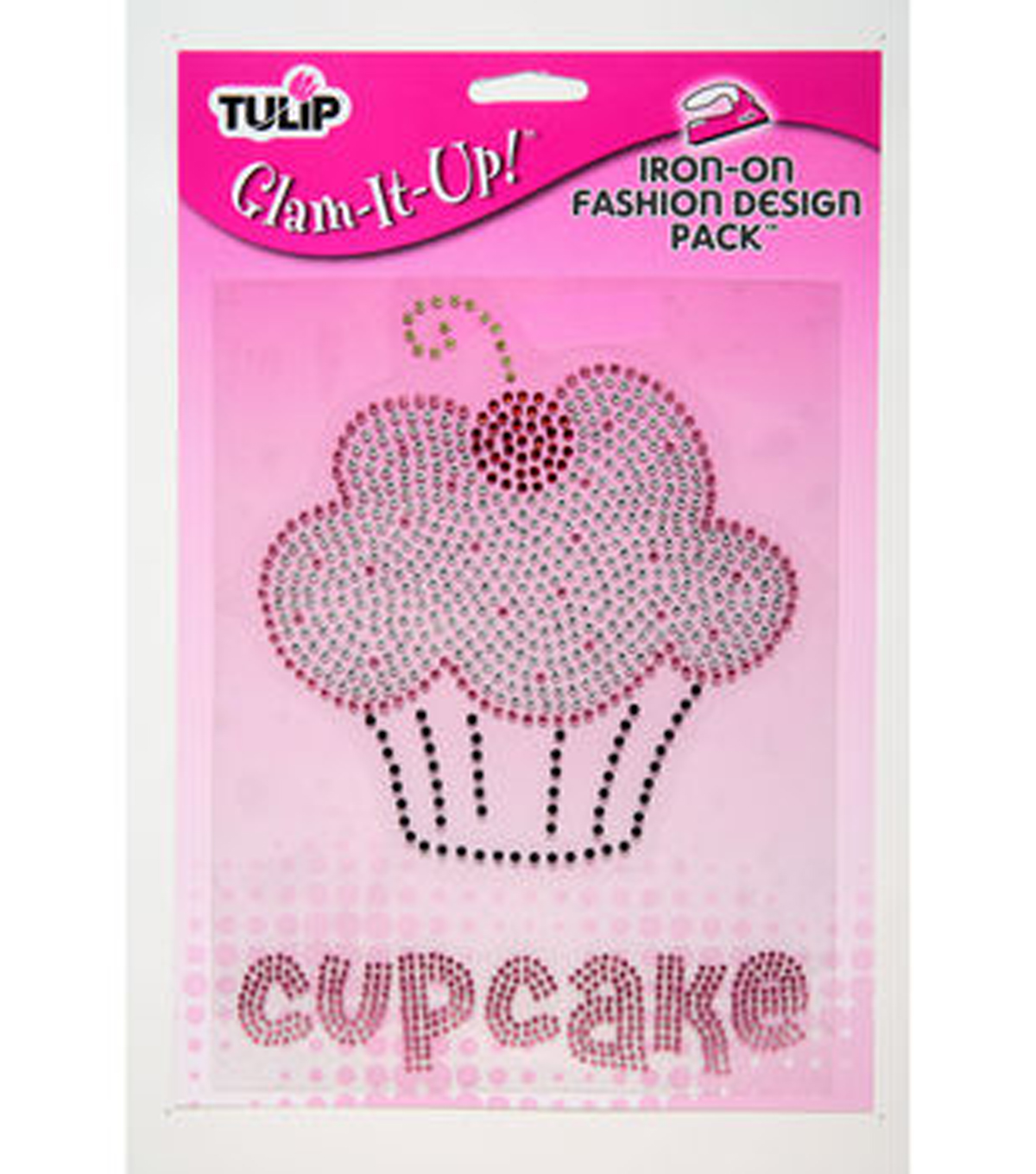 Tulip® Glam-It-Up!™ Iron On Large Pack-Cupcake