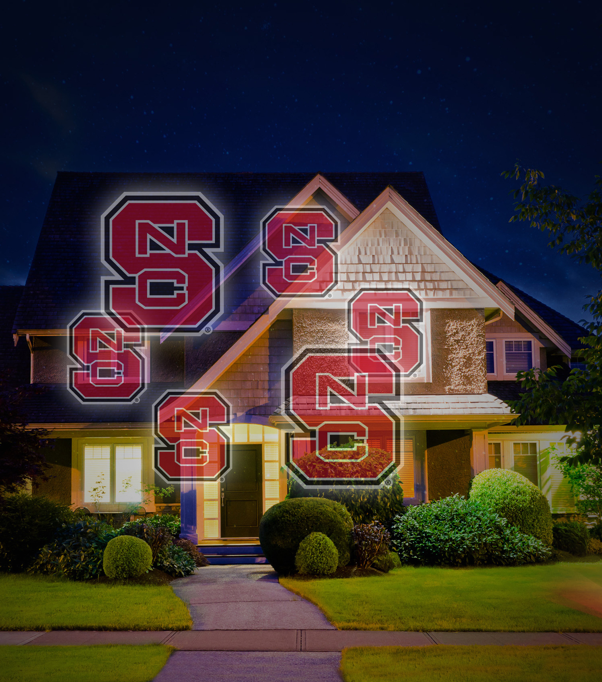 North Carolina State Wolfpack Light Projector