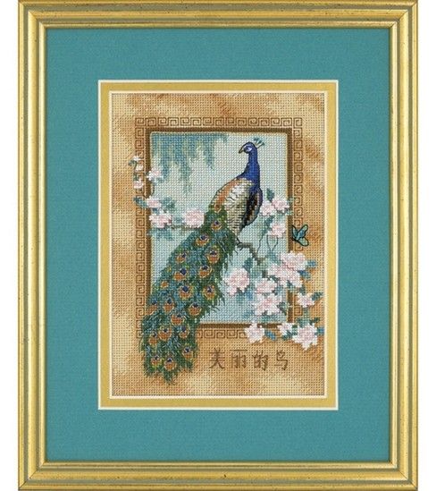 Dimensions Cntd Cross Stitch Kit-Petite Beautiful Bird