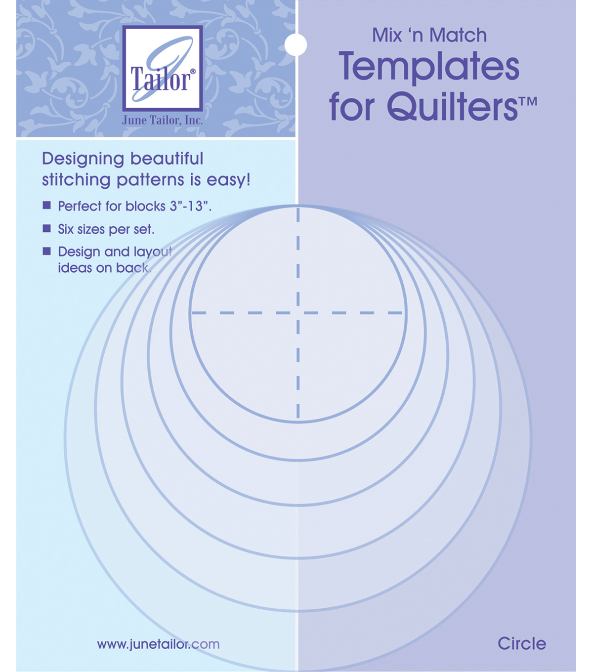June Tailor Mix\u0027n Match Templates For Quilters