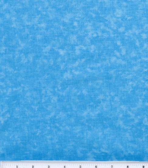 Keepsake Calico™ Cotton Fabric 44\u0022-Aqua Tonal
