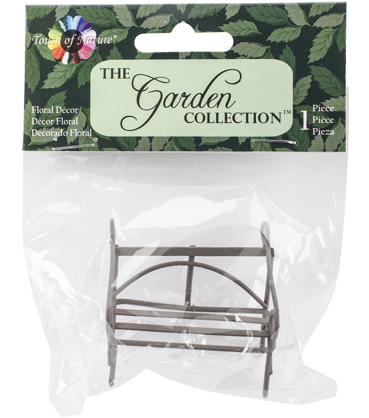 Midwest Design The Garden Collection 2'' Mini Iron Garden Bench