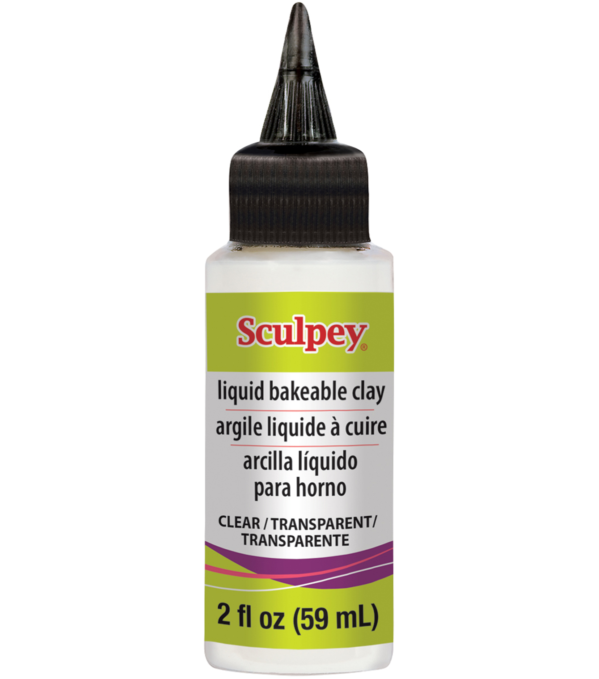 Sculpey Liquid Polymer Clay 2oz-Clear