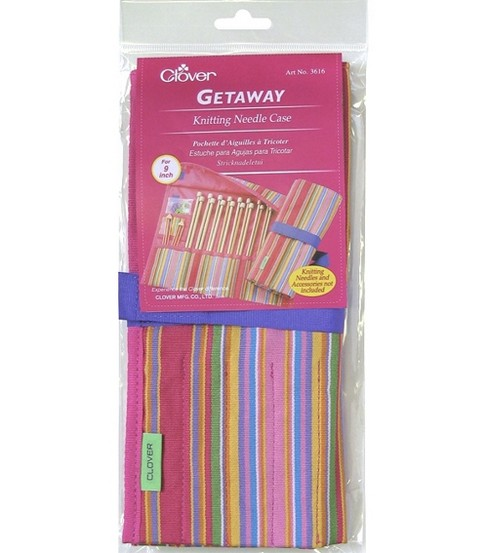 Clover Getaway Mini Single Point Knitting Needle Case