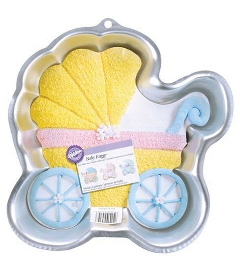 Wilton® Cake Pans Novelty Baby Buggy