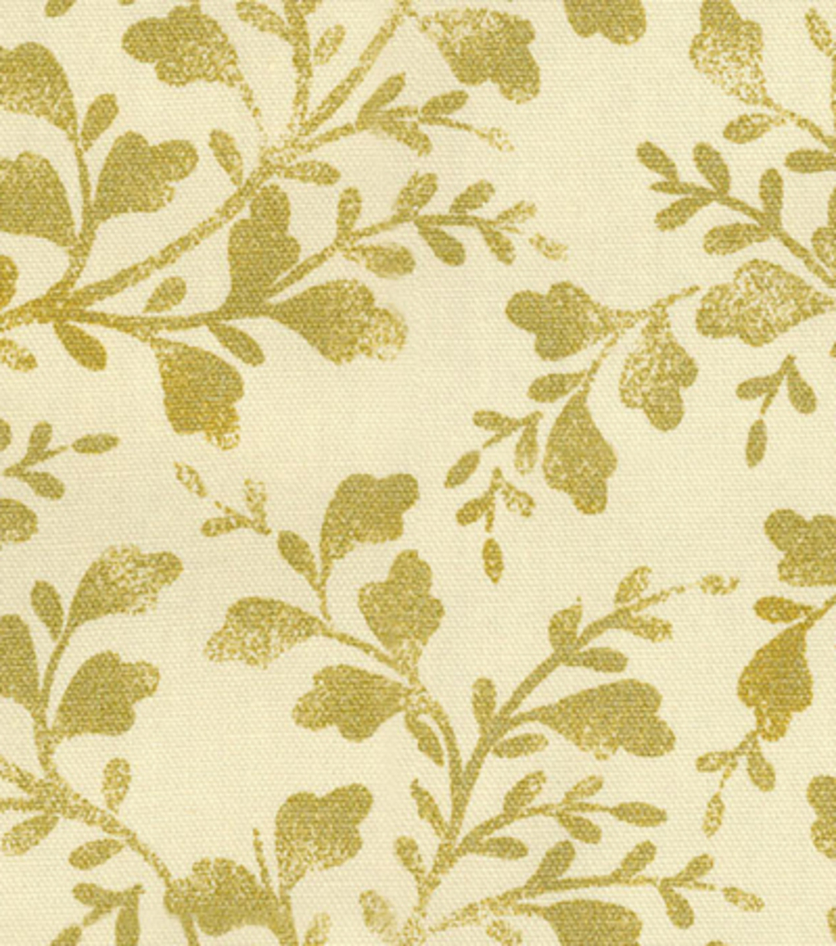"Home Decor 8""x8"" Fabric Swatch-HGTV HOME Intertwined Gold"