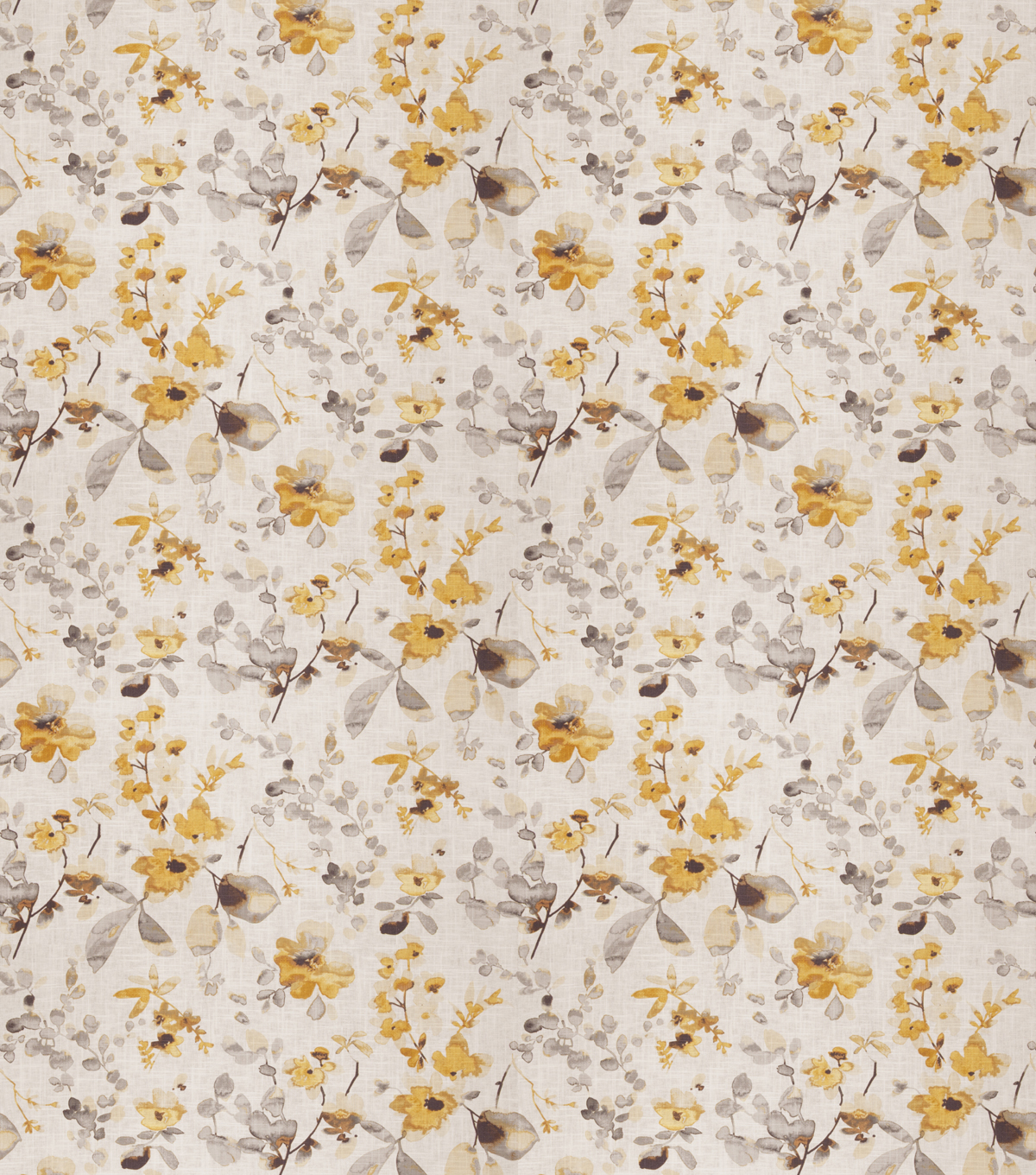 "Eaton Square Upholstery Fabric 54""-Goldstone/Yellow Grey"