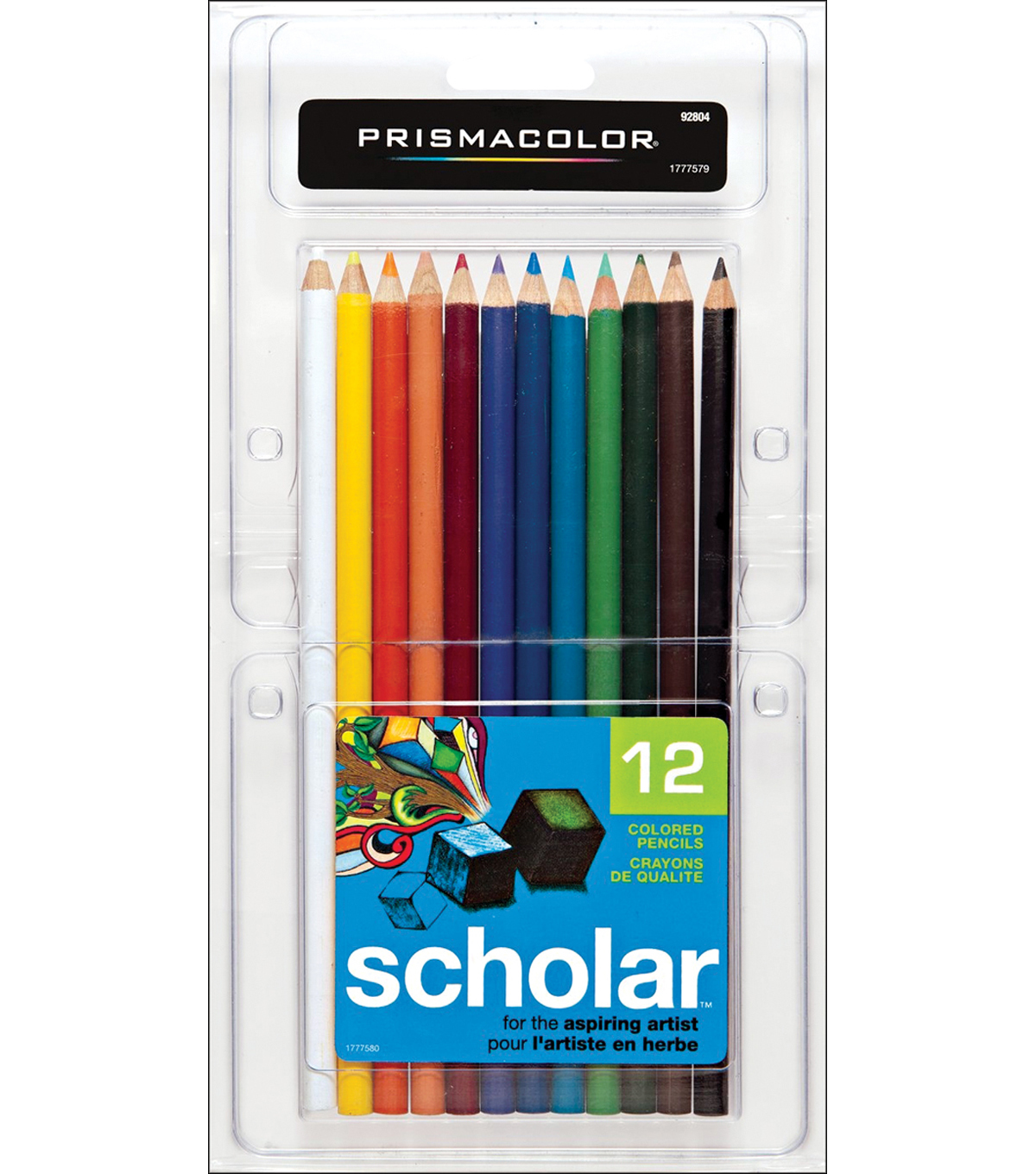 Prismacolor Scholar Colored Pencil Set 12/Pk-