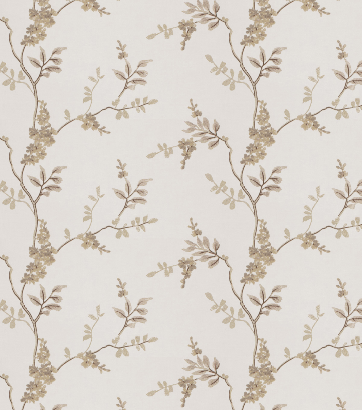 Eaton Square Print Fabric-Rosehips/Linen