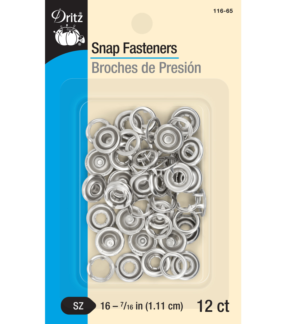 Dritz® 12 Snap Fasteners