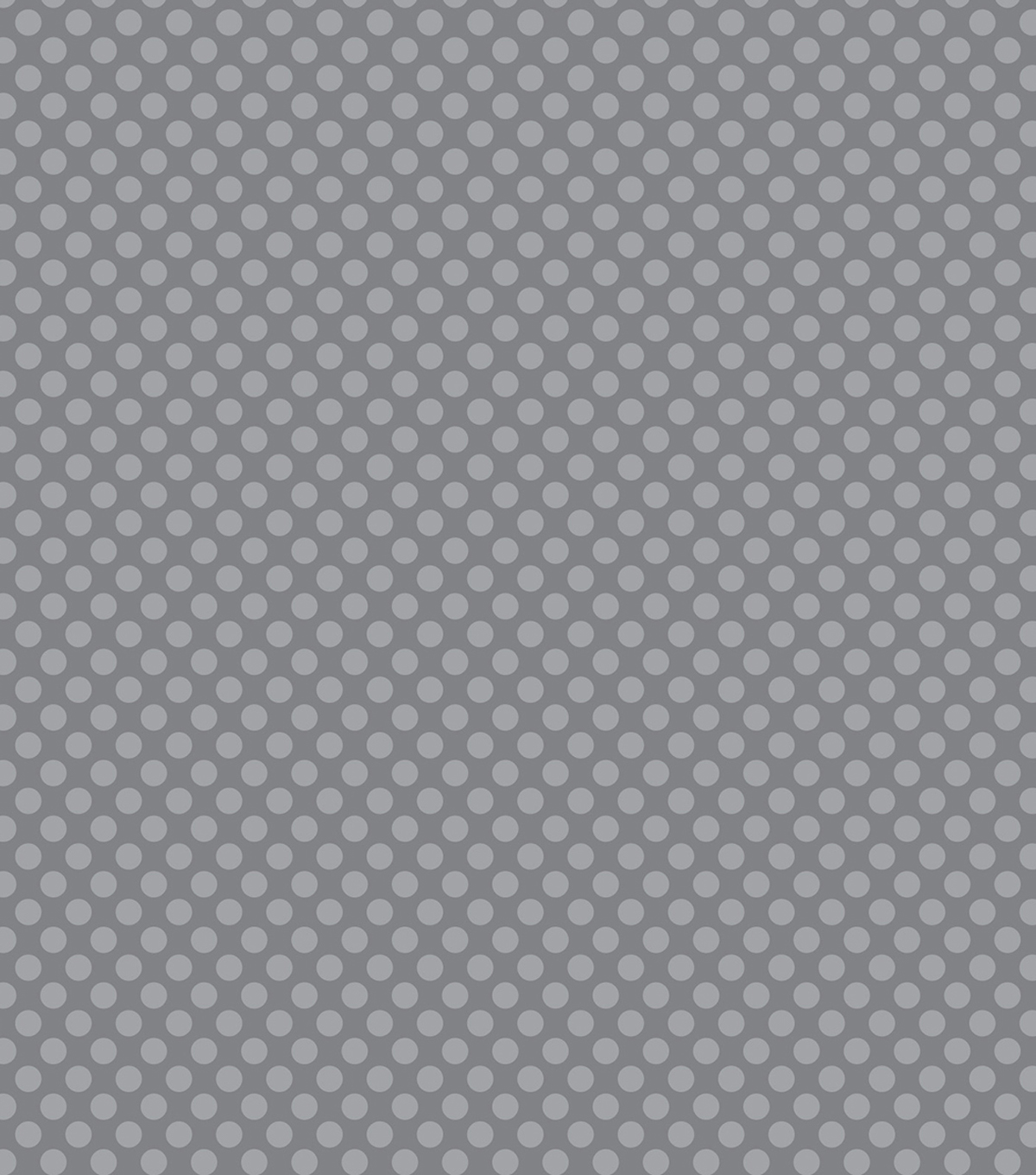 "Core'dinations Core Basics Patterned Cardstock 12""X12""-Gray Large Dot"