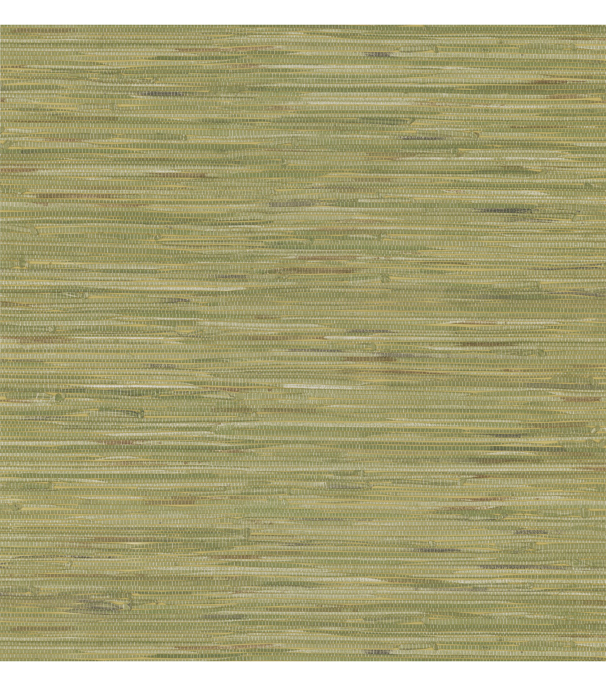 Madagascar Olive Faux Grasscloth Wallpaper Sample