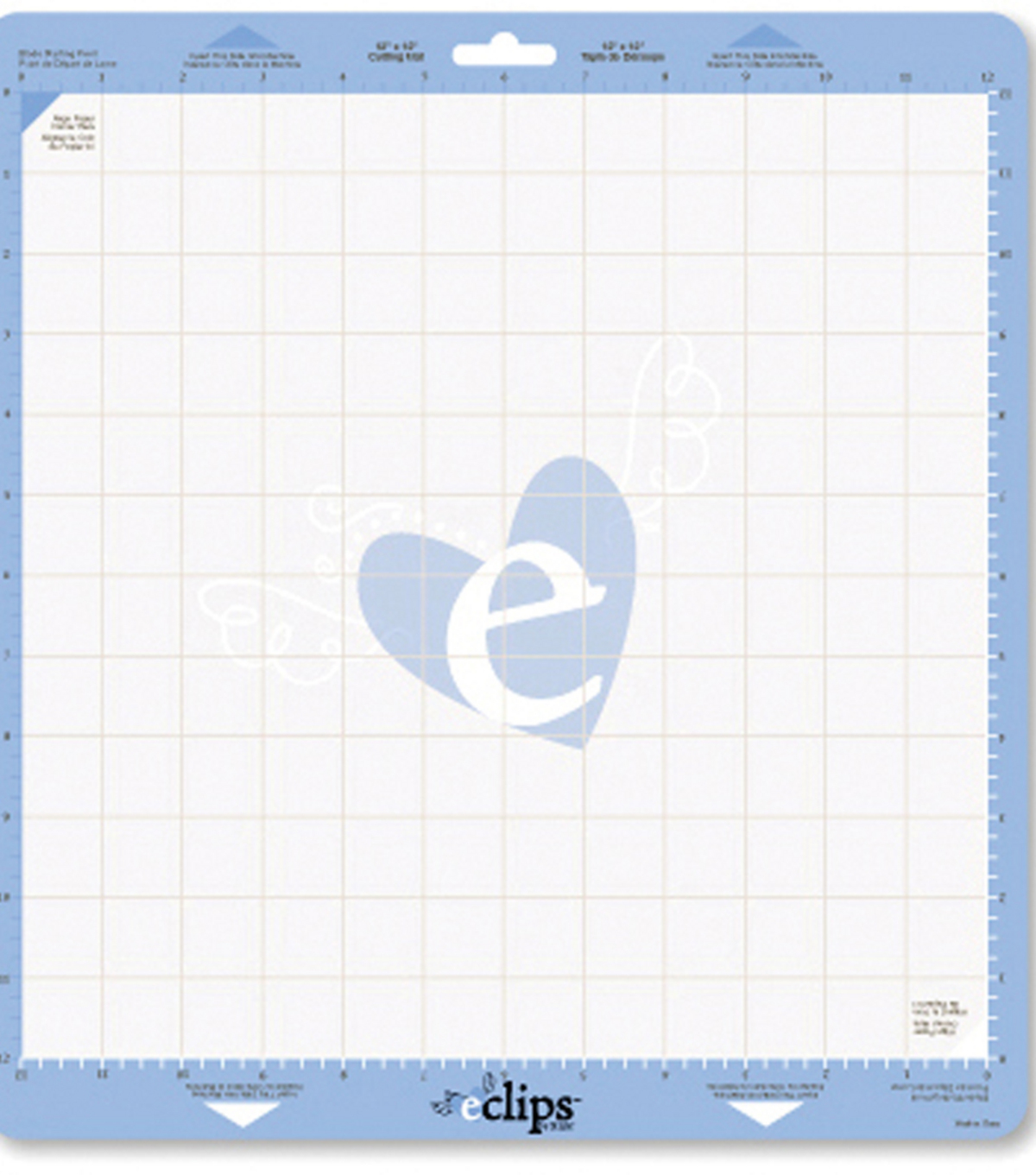 Sizzix eclips Cutting Mat 12\u0022X12\u0022 2Pk-Includes Metric Measurements