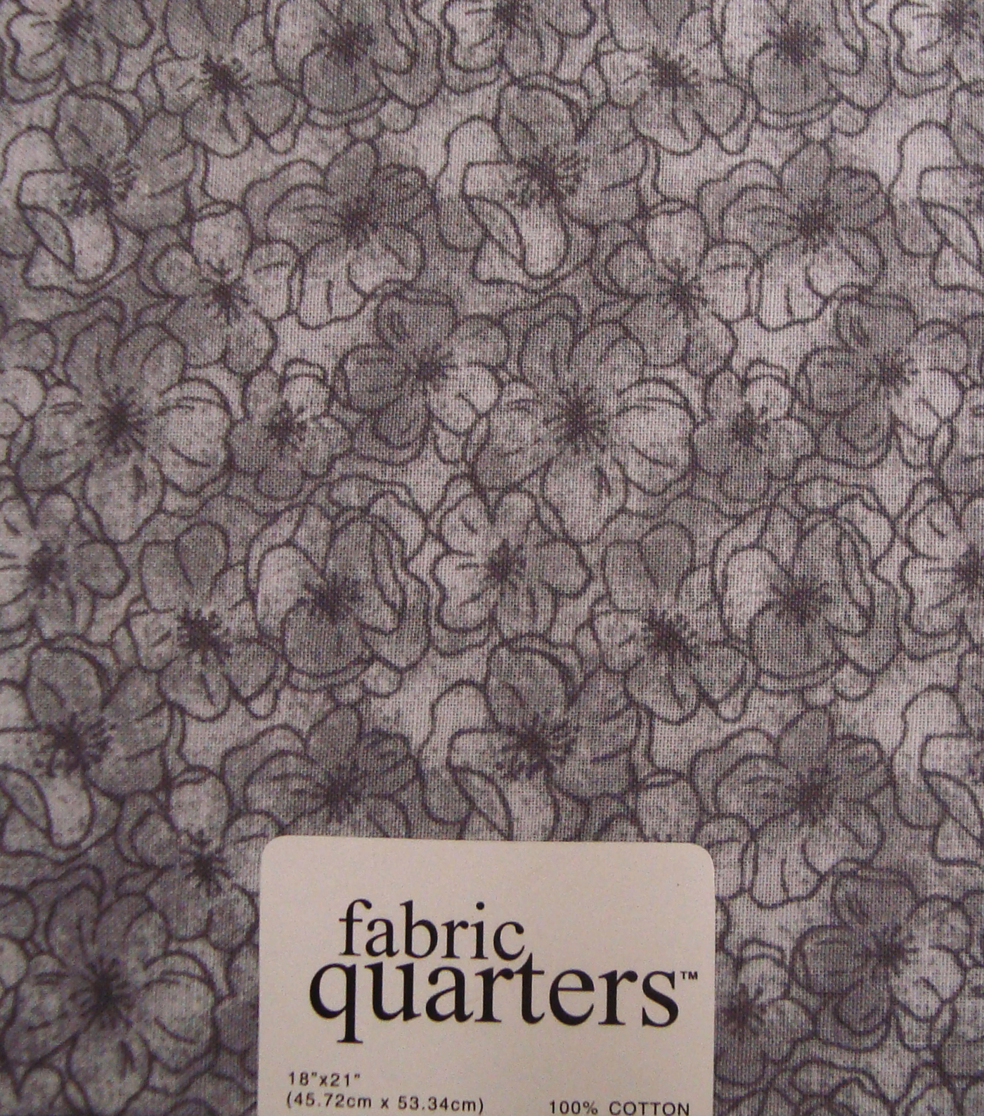 Fabric-Quarters Cotton Fabric-Assorted Gray