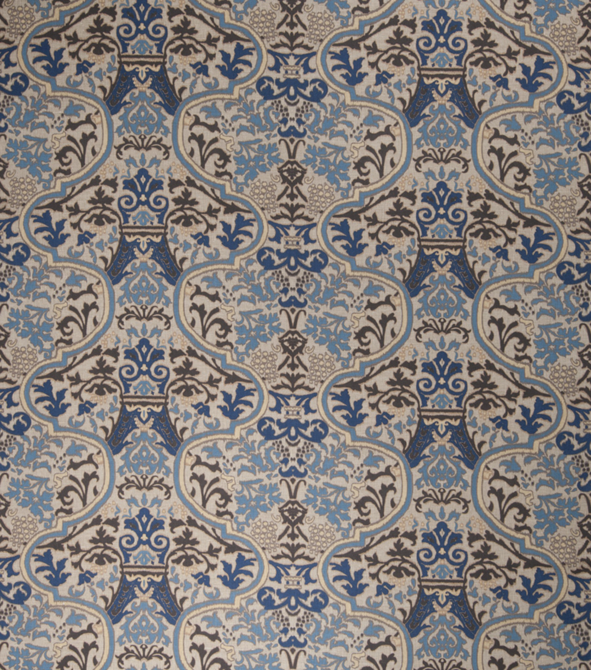 Home Decor 8\u0022x8\u0022 Fabric Swatch-Print Fabric Eaton Square Vanguard Royal