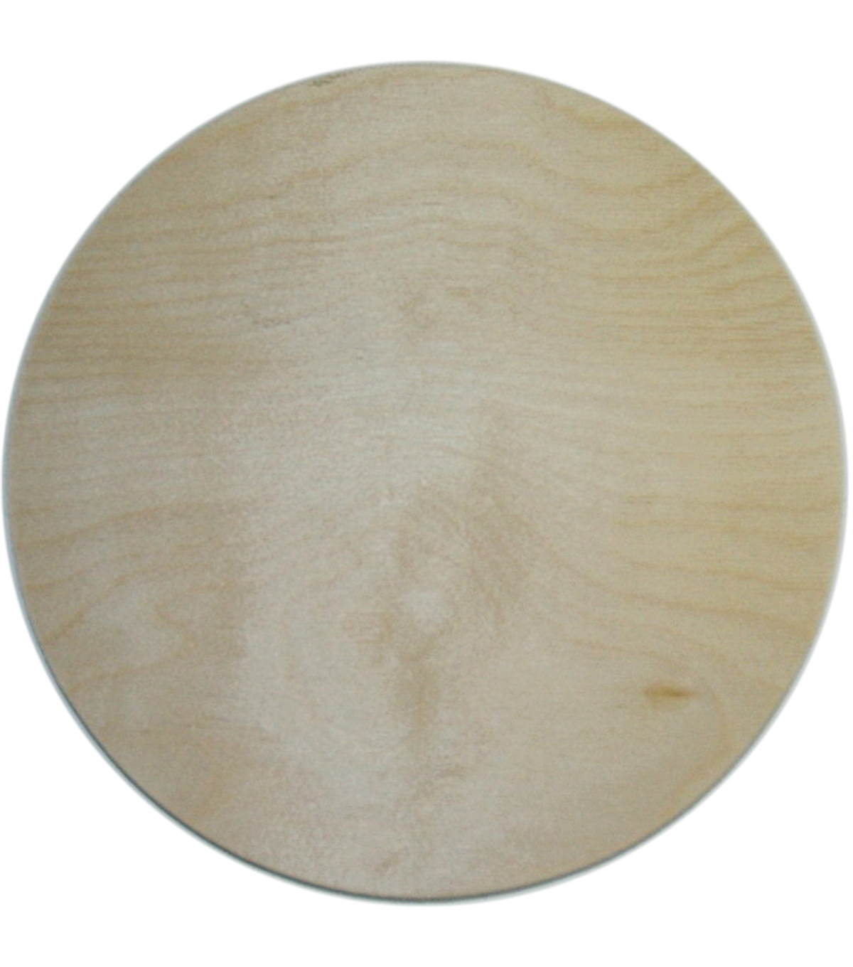 Unfinished Round Wood Picture Frames - Round Designs
