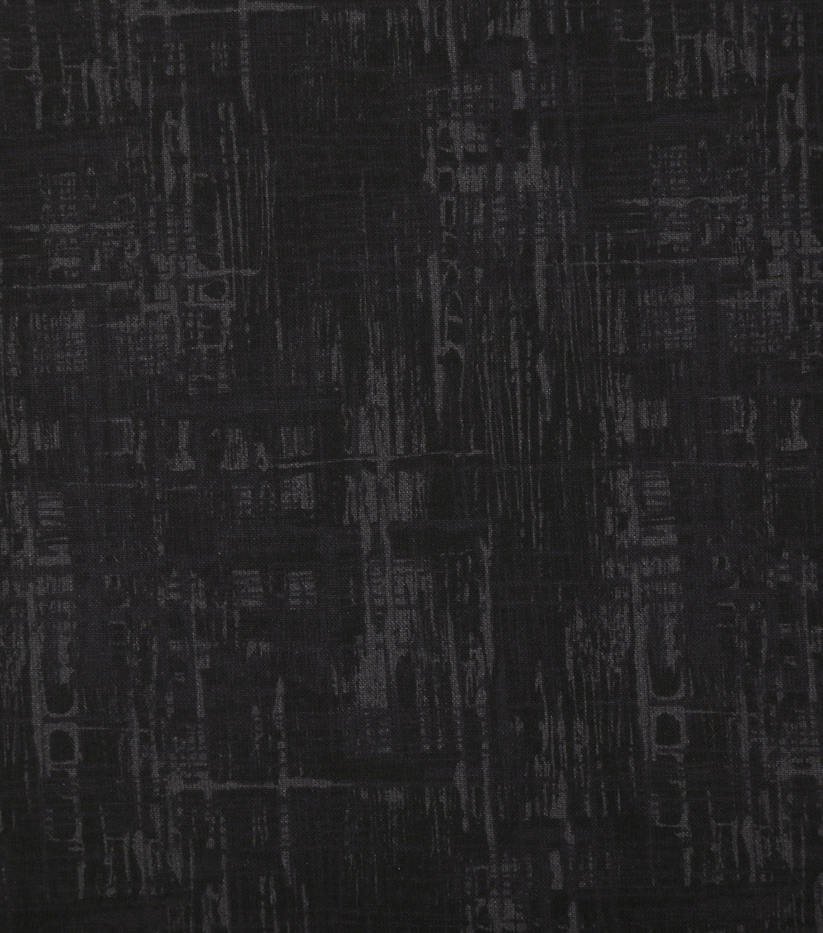Wide Quilt Cotton Backing Fabric 108''-Black Crosshatch