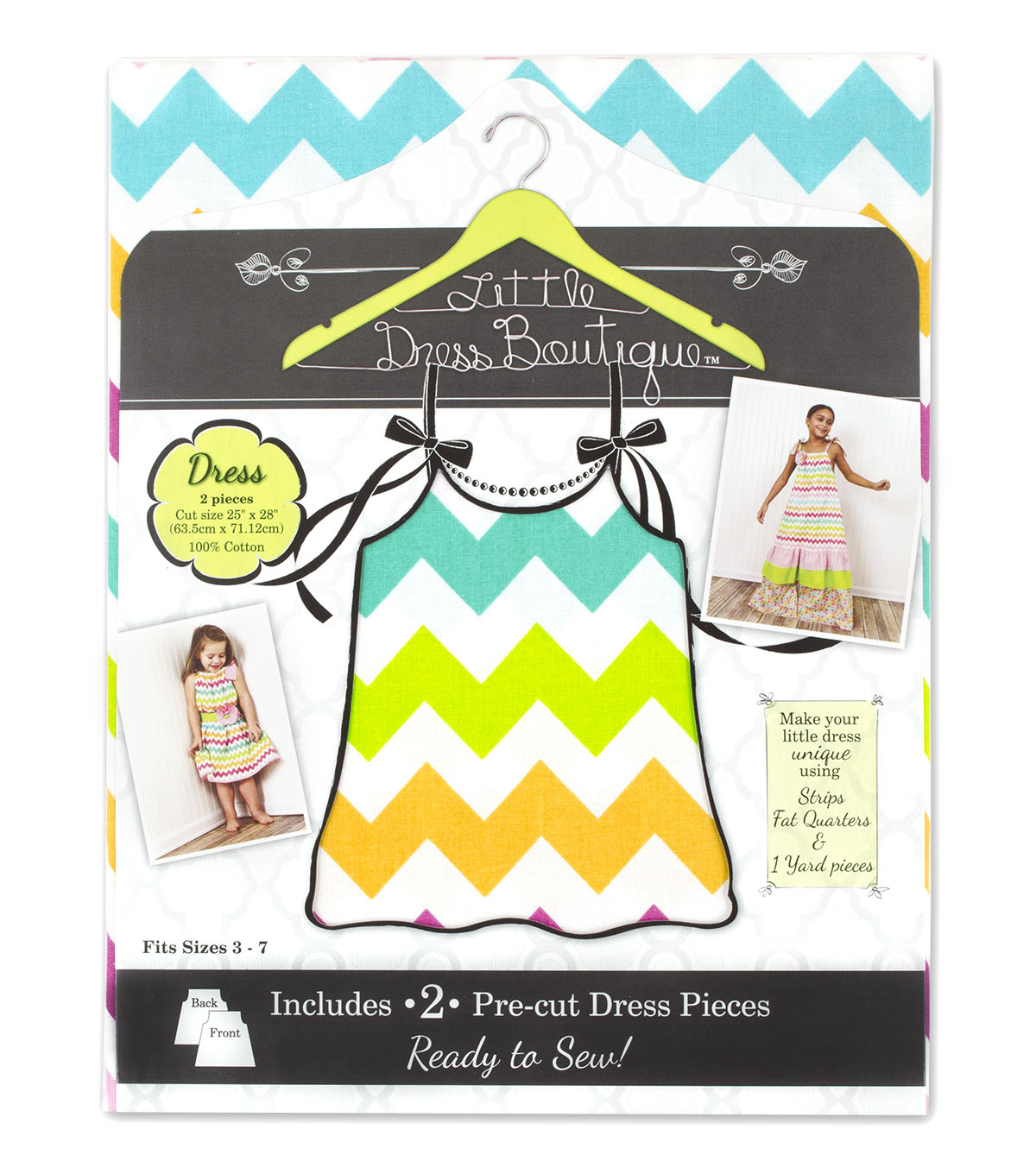 Little Dress Boutique Cotton Fabric-Maddie Dress