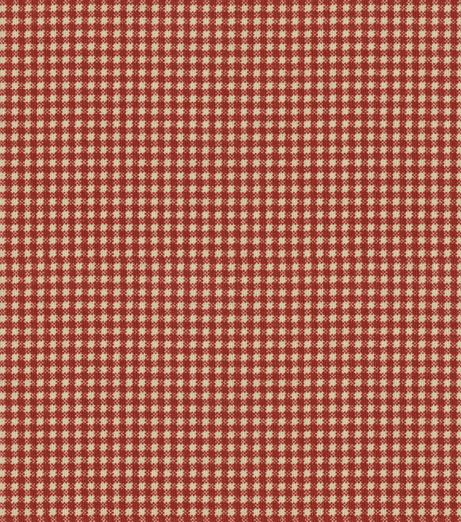 "Home Decor 8""x8"" Fabric Swatch-Country Fair Crimson"