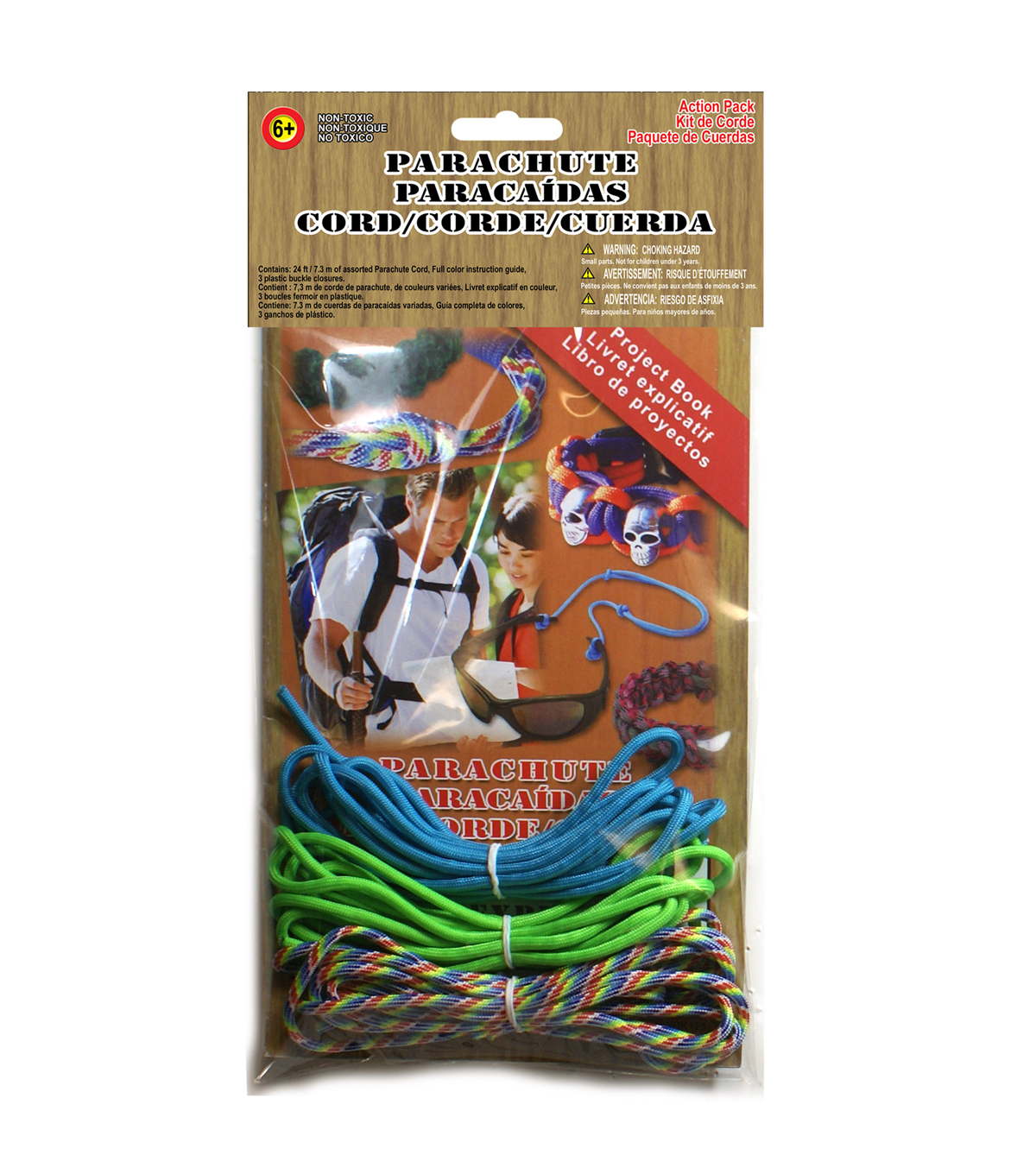 Pepperell Braiding Parachute cord Super Value Pack