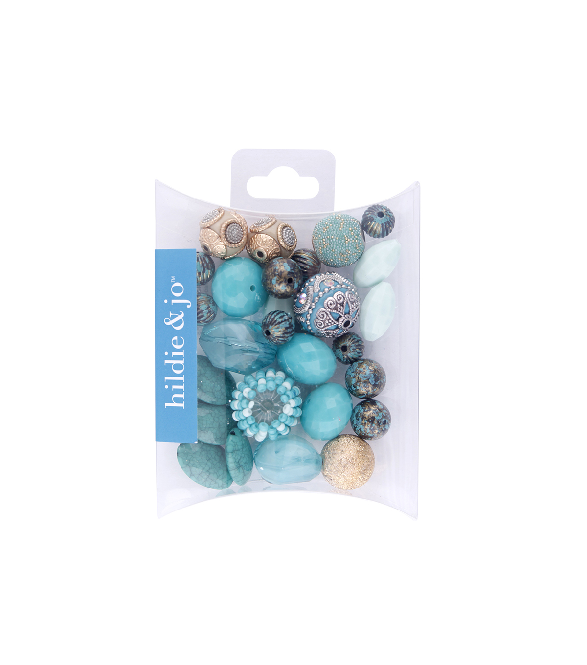 hildie & jo™ Mix Beads-Turquoise