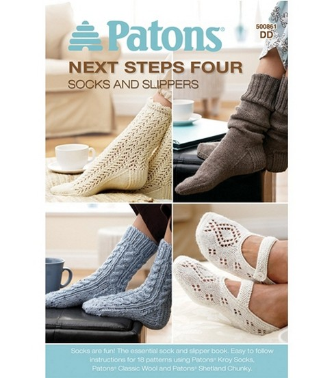 Patons-Next Steps Four: Socks And Slippers