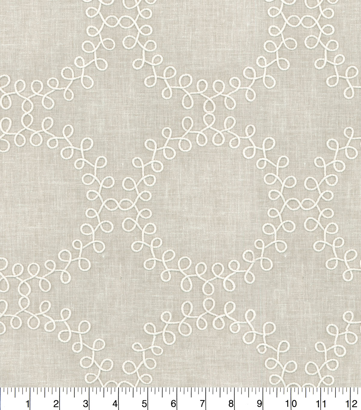 Waverly Multi-Purpose Decor Fabric 54\u0022-Ready to Roll Emb Linen