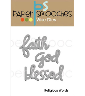 Paper Smooches Religious Words Dies