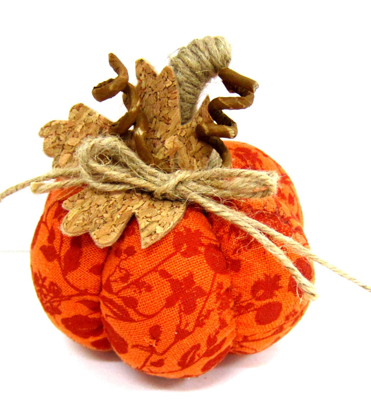 Pumpkin Boutique Extra Small Pumpkin Fabric-Orange