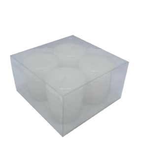 Maker\u0027s Holiday 4ct Votive Candles-White