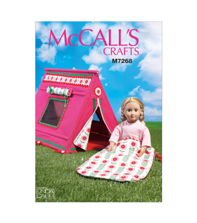 McCall\u0027s Crafts Doll Clothes-M7268