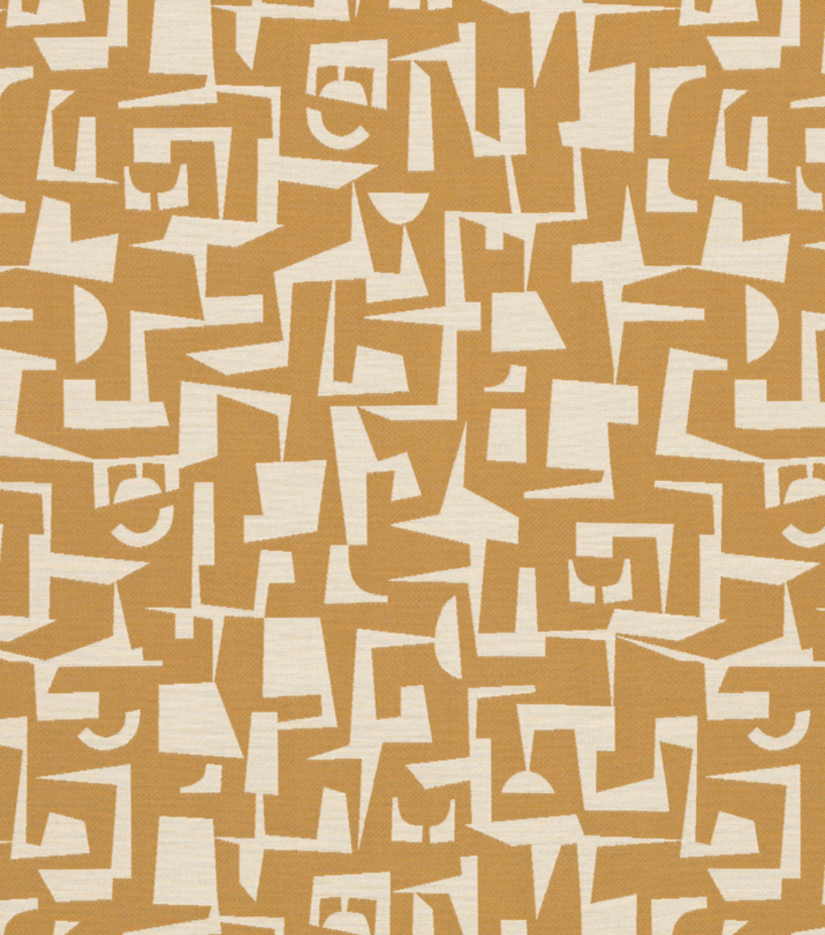 "Home Decor 8""x8"" Fabric Swatch-Modernica Yellow"
