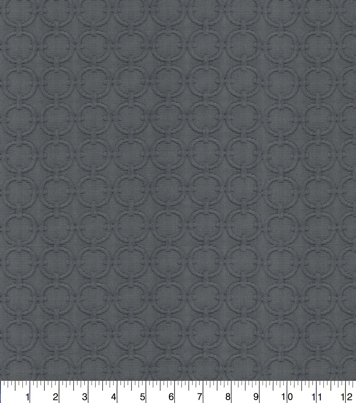 Waverly Upholstery Fabric 54\u0027\u0027-Charcoal Full Circle