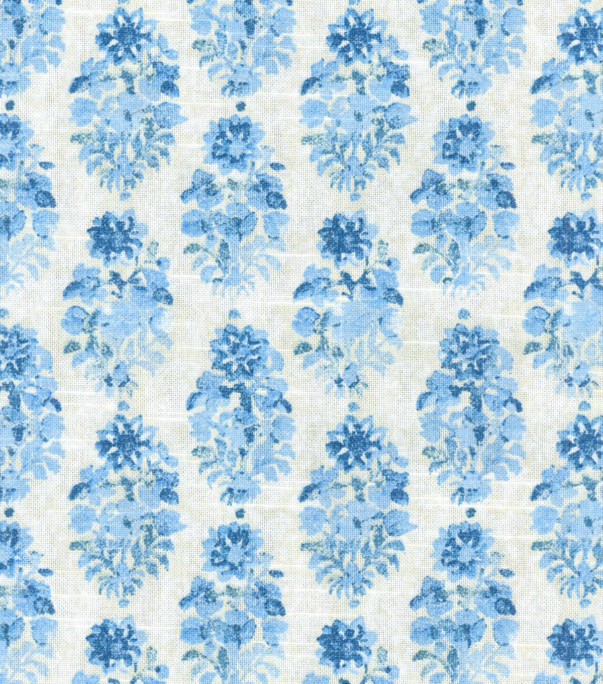 Home Decor 8\u0022x8\u0022 Swatch Fabric-IMAN Home Petite Batik Porcelain