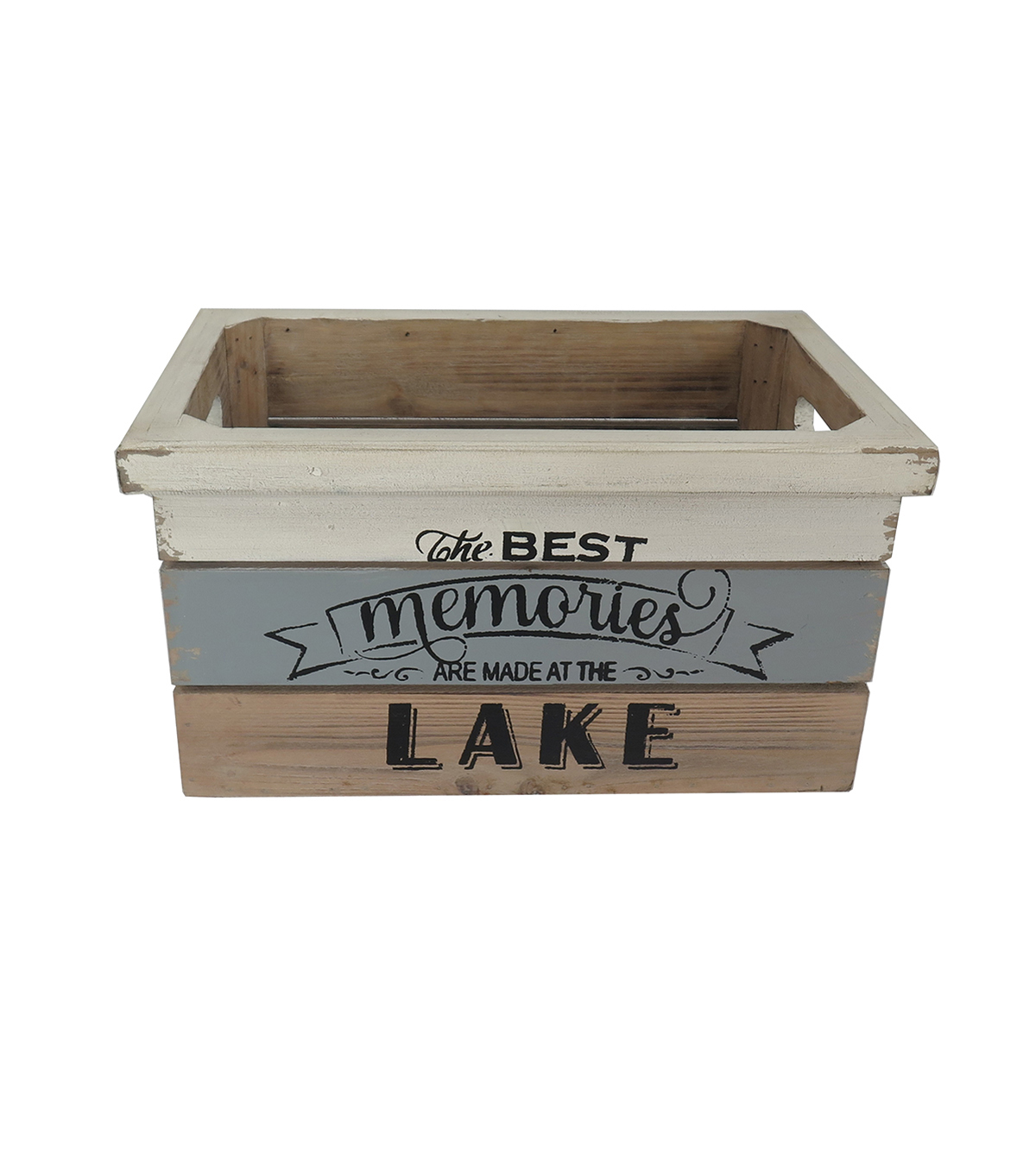 Sea to Sea Small Crate-The Best Memories Are Made At The Lake