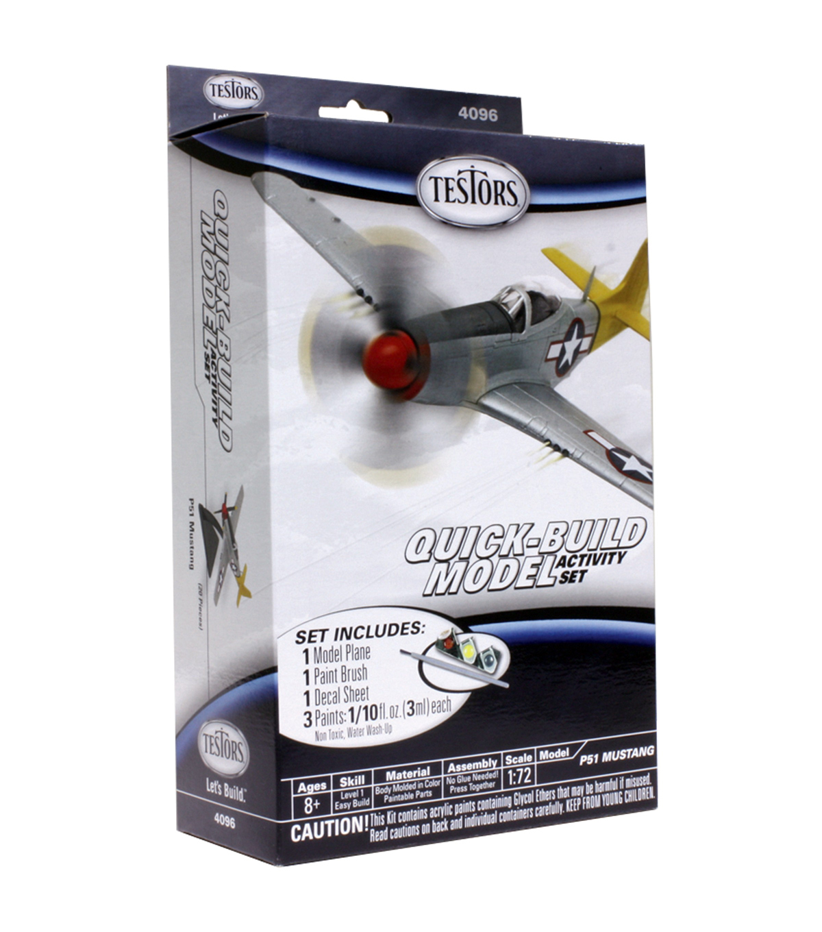 1:72 SCALE P-51 MUSTANG Model Kit