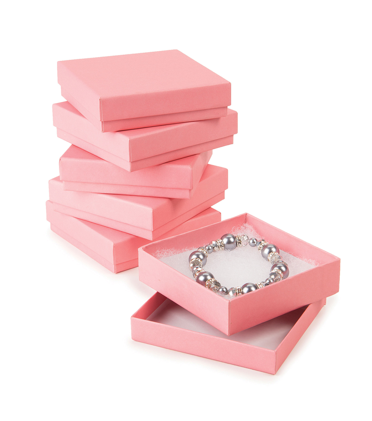 Jewelry Gift Boxes-Pink 6pk