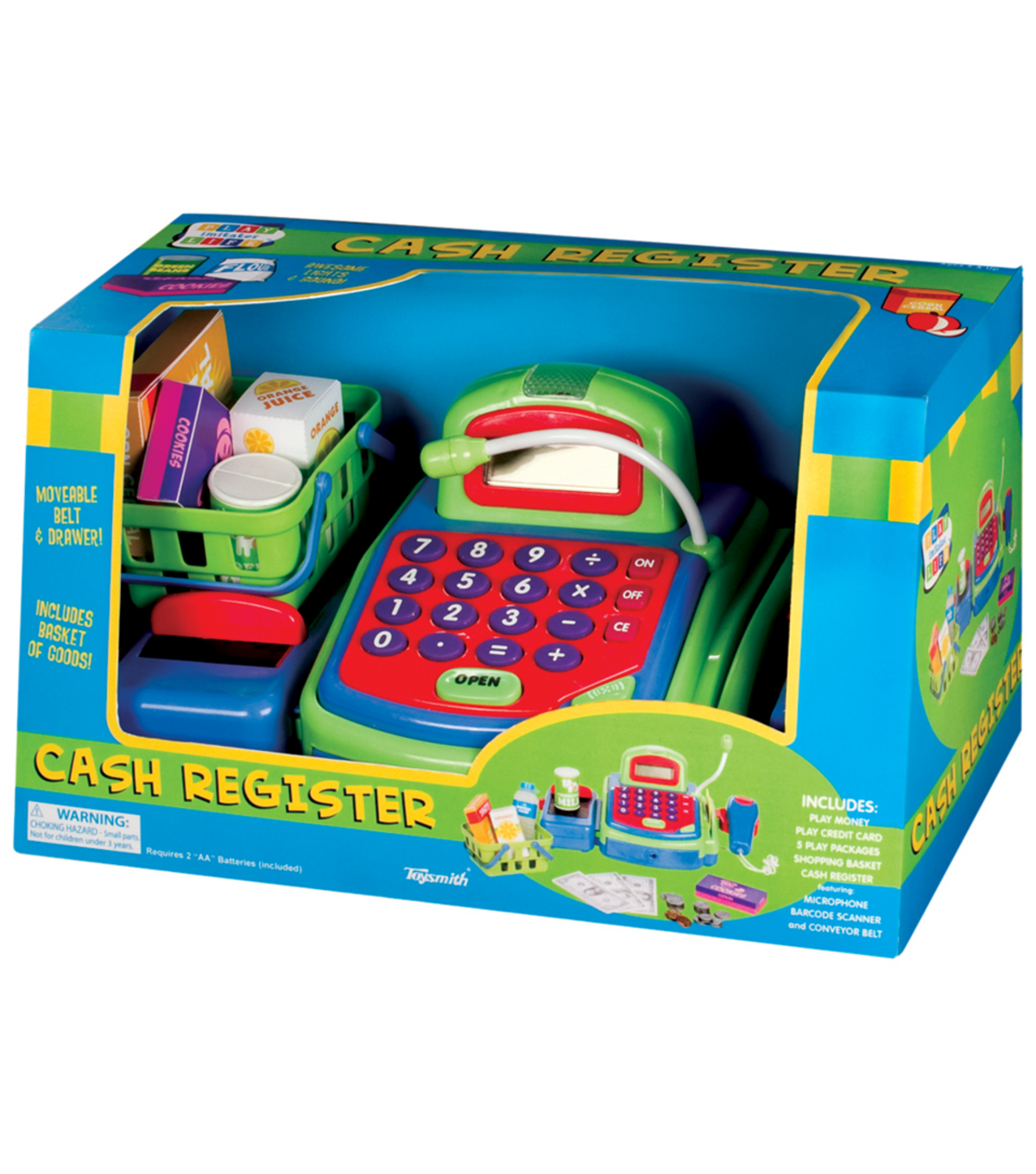Busy Kids Learning Toysmith Cash Register