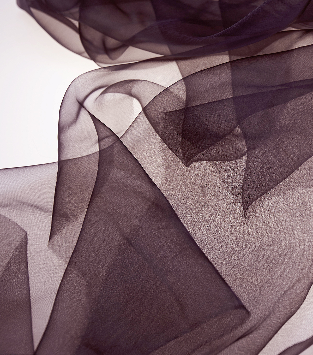 All That Glitters Sheer Ribbon Organza Fabric-Iron