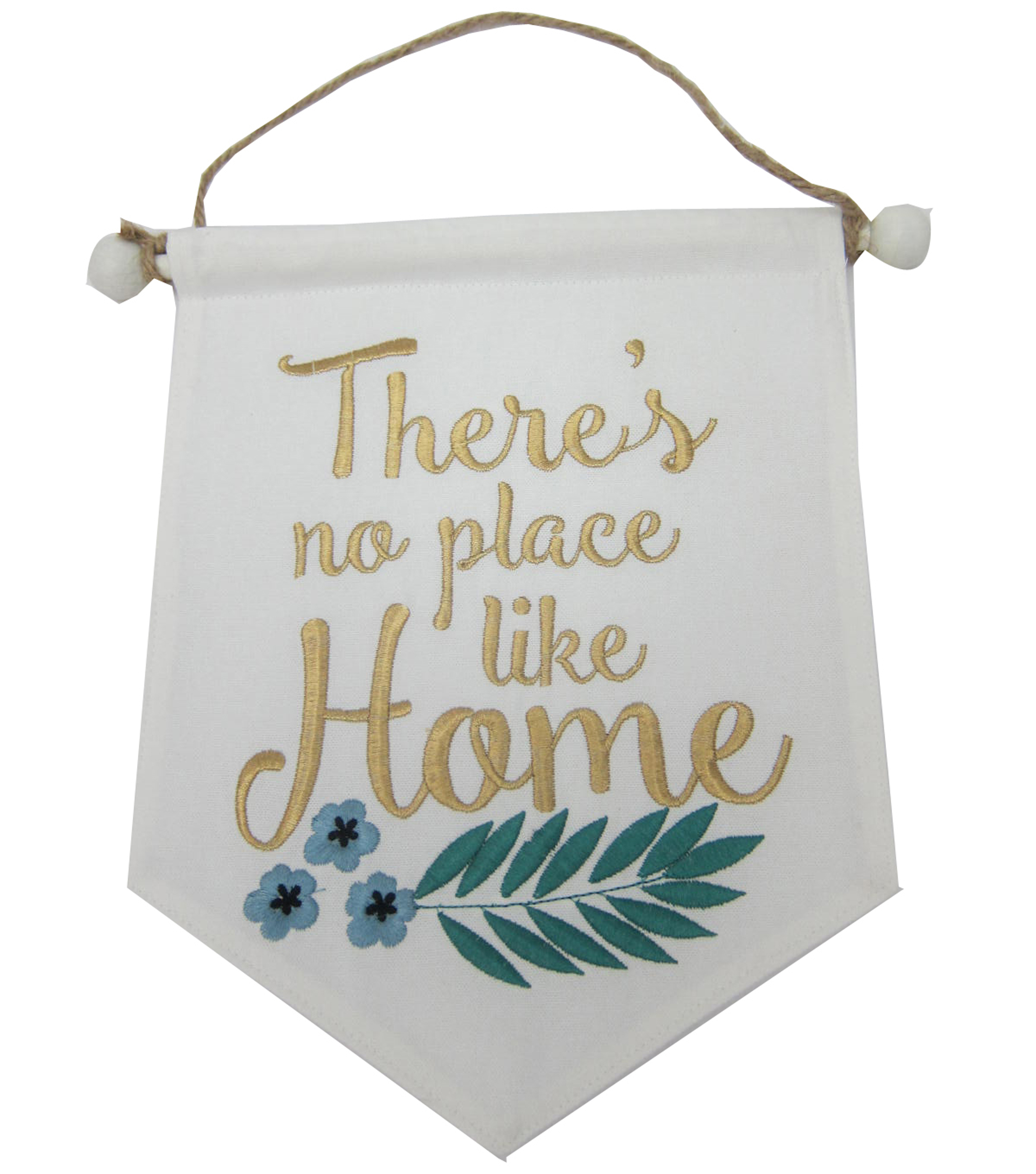Wild Blooms Mini Banner-There\u0027s No Place Like Home