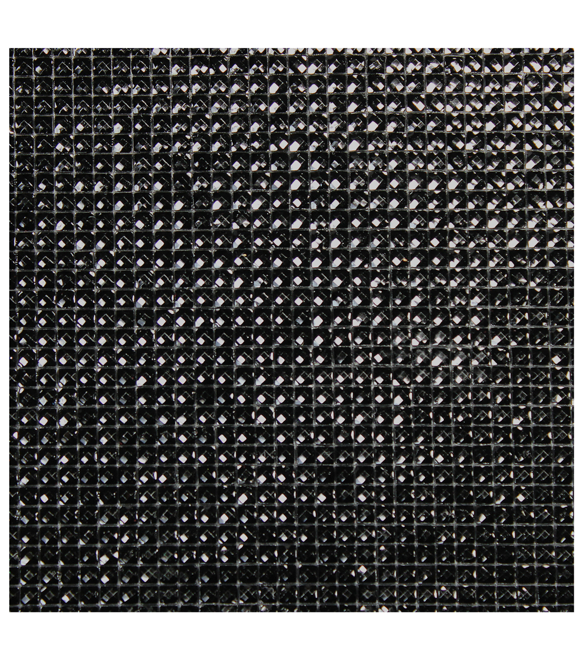 Dazzling  Resin Jewel Self Adhesive Sheet-Black