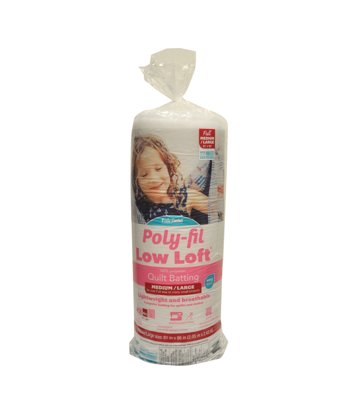 Soft n Crafty ® Low-Loft™ Batting 81\u0022x96\u0022